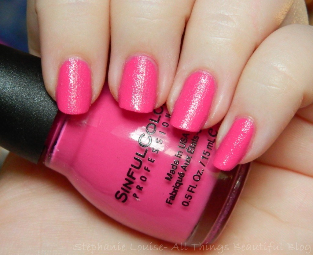 Sinful Colors Full Throttle Rubberized Texture Nail Polishes Swatches & Review