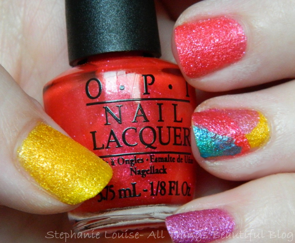 OPI Brazil Beach Sandies Liquid Sand Minis Swatches & Review