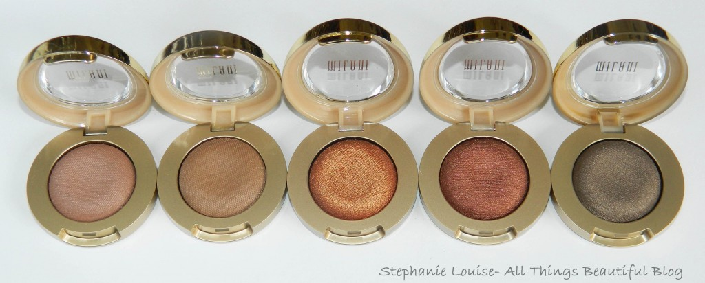Milani Bella Eyes Full Eyeshadow Line Swatches & Review