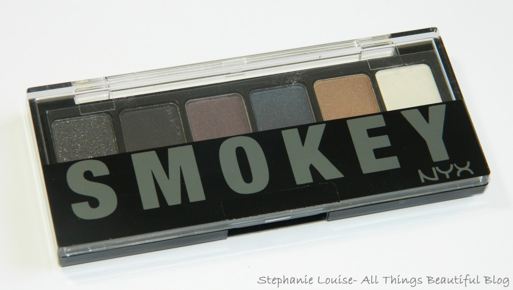 NYX Smokey Palette Swatches & Review