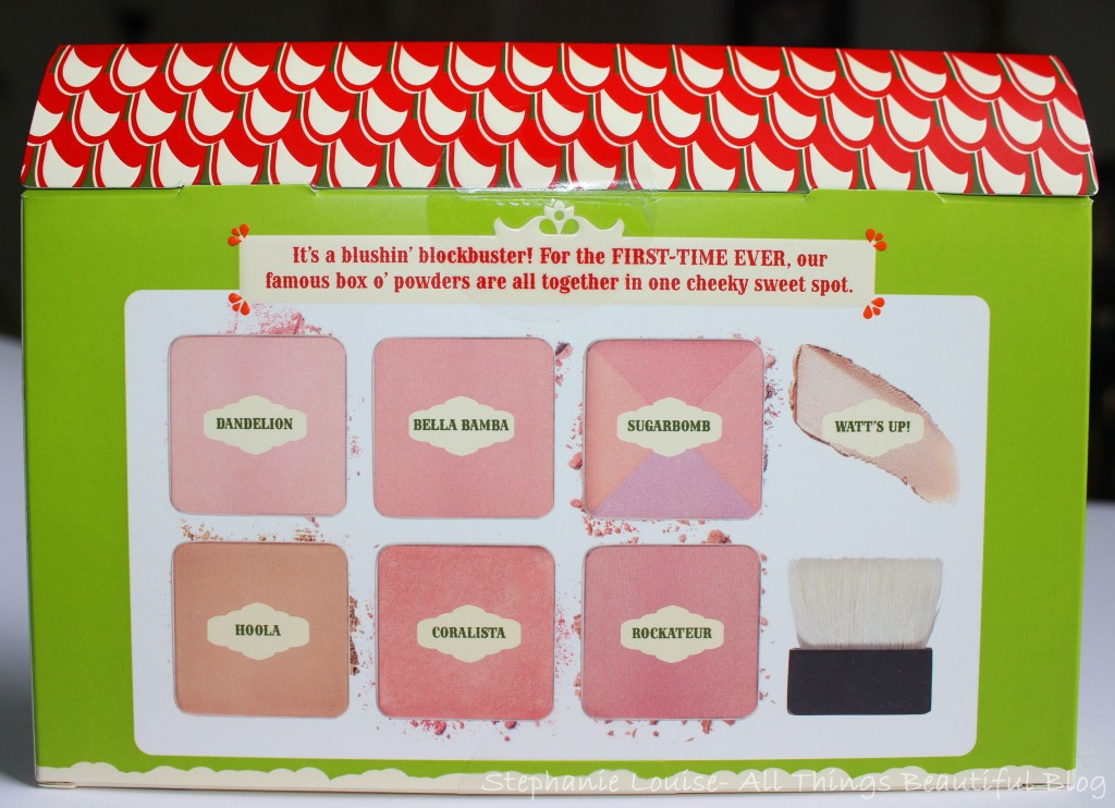 Benefit Cheeky Sweet Spot Tin Palette for Holiday 2014 Swatches & Review