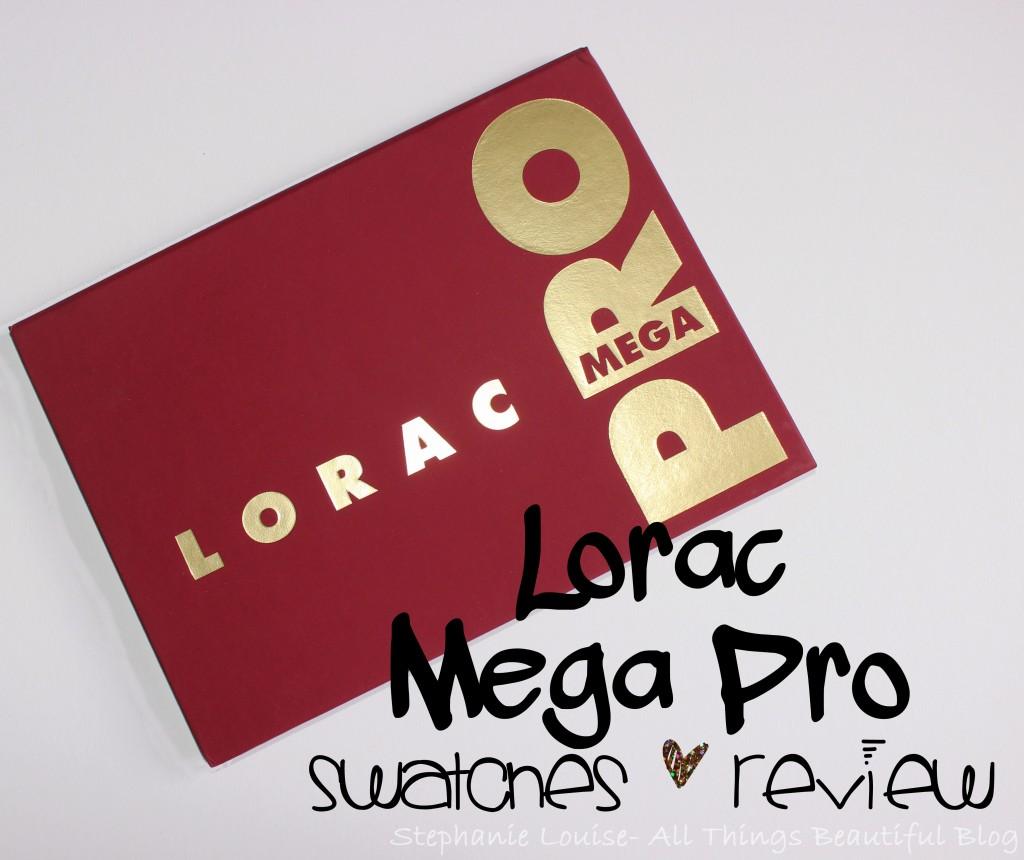 Lorac Mega Pro Palette Swatches & Review + Giveaway!