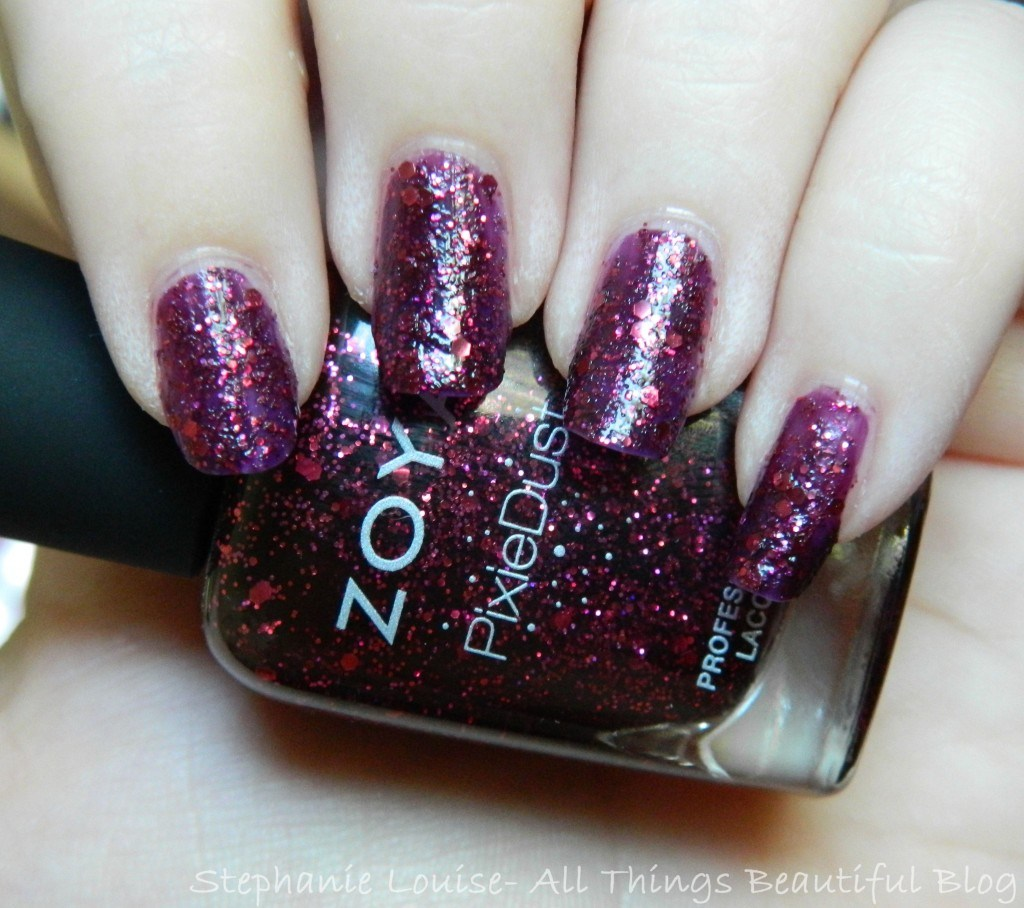 Zoya Fall 2014 Pixie Dust Trio Swatches & Review of Noir, Arianna, + Oswin