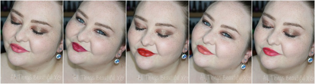 Butter London Lippy Moisture Matte Lipsticks Swatches & Review from All Things Beautiful XO