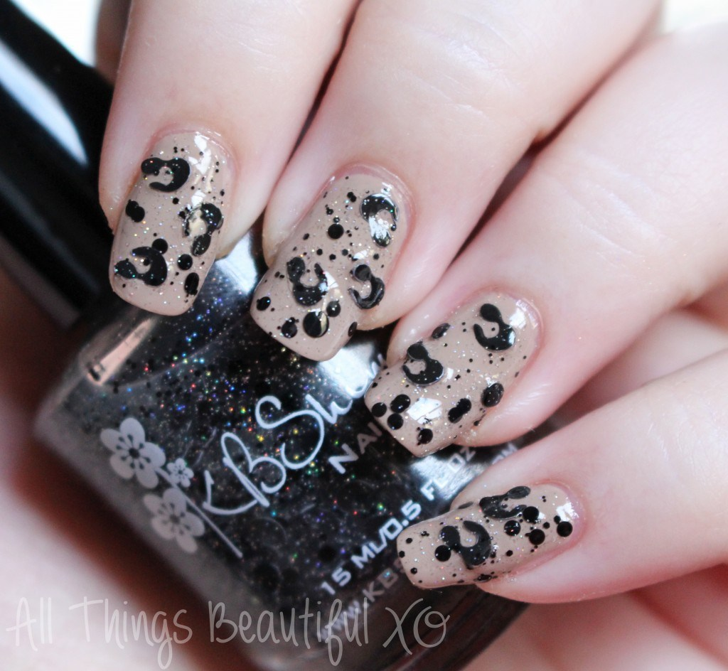 Spot Sign from the KBShimmer Holiday Nail Polishes for Winter 2014 Swatches & Review on All Things Beautiful XO