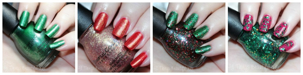 Sinful Colors Nail Polish Shades for Winter & Holiday 2014 Swatches & Review from All Things Beautiful XO