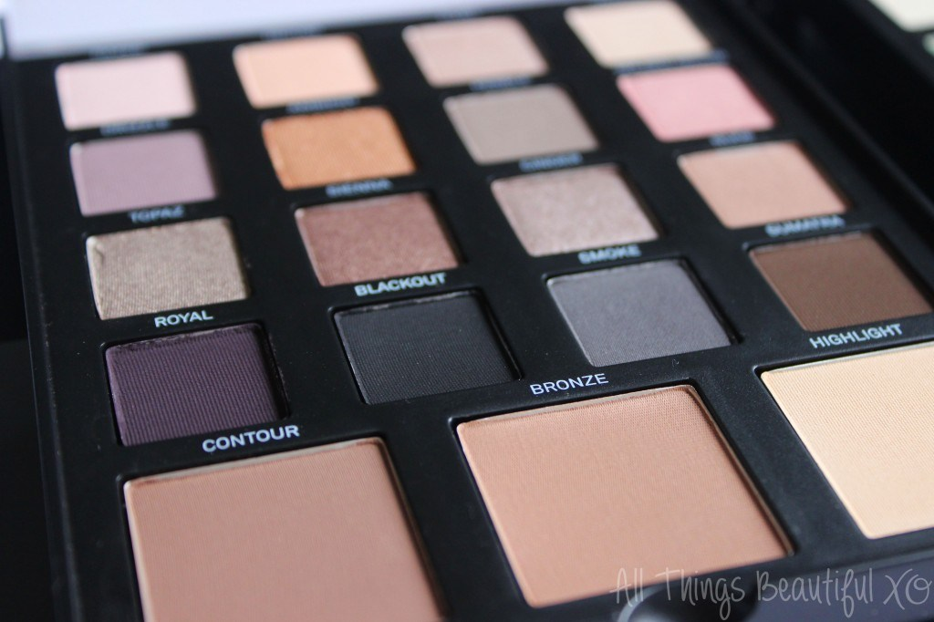 The Smashbox Master Class 3 Palette is my Favorite! Swatches, Review, & Demo from All Things Beautiful XO