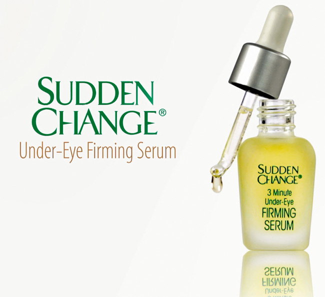 Seeing a Difference with Sudden Change 3 Minute Under Eye Firming Serum on All Things Beautiful XO