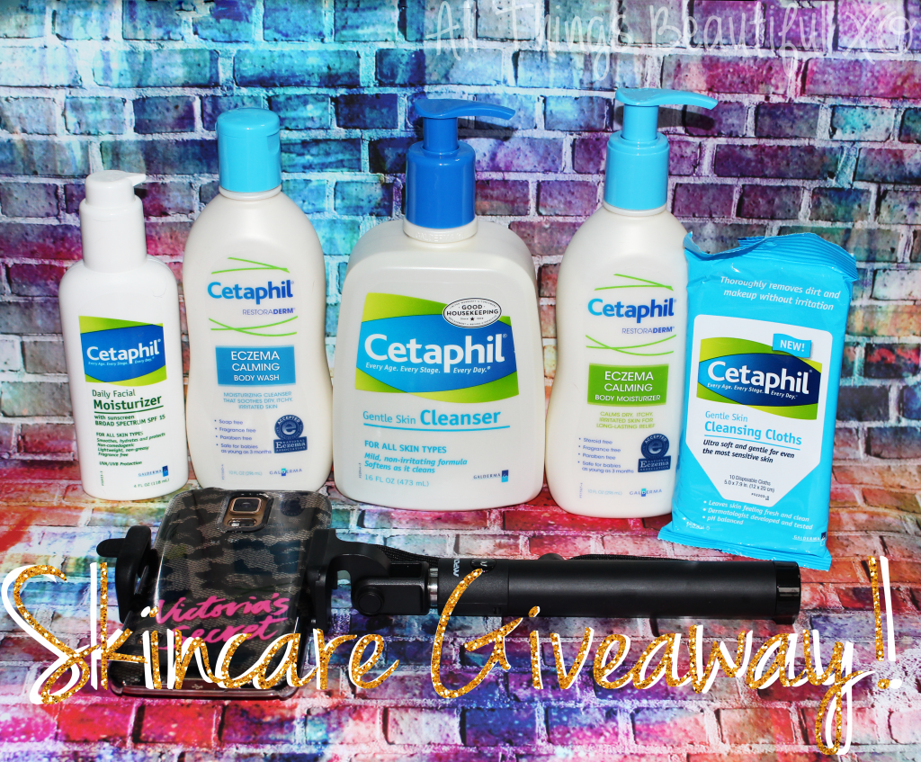 """Cetaphil is one of my favorite skincare brands for everything from eczema to rosacea to dryness- check out the """"Break Up with Your Makeup"""" Campaign plus enter my Giveaway! #BreakUpWMakeup on All Things Beautiful XO 