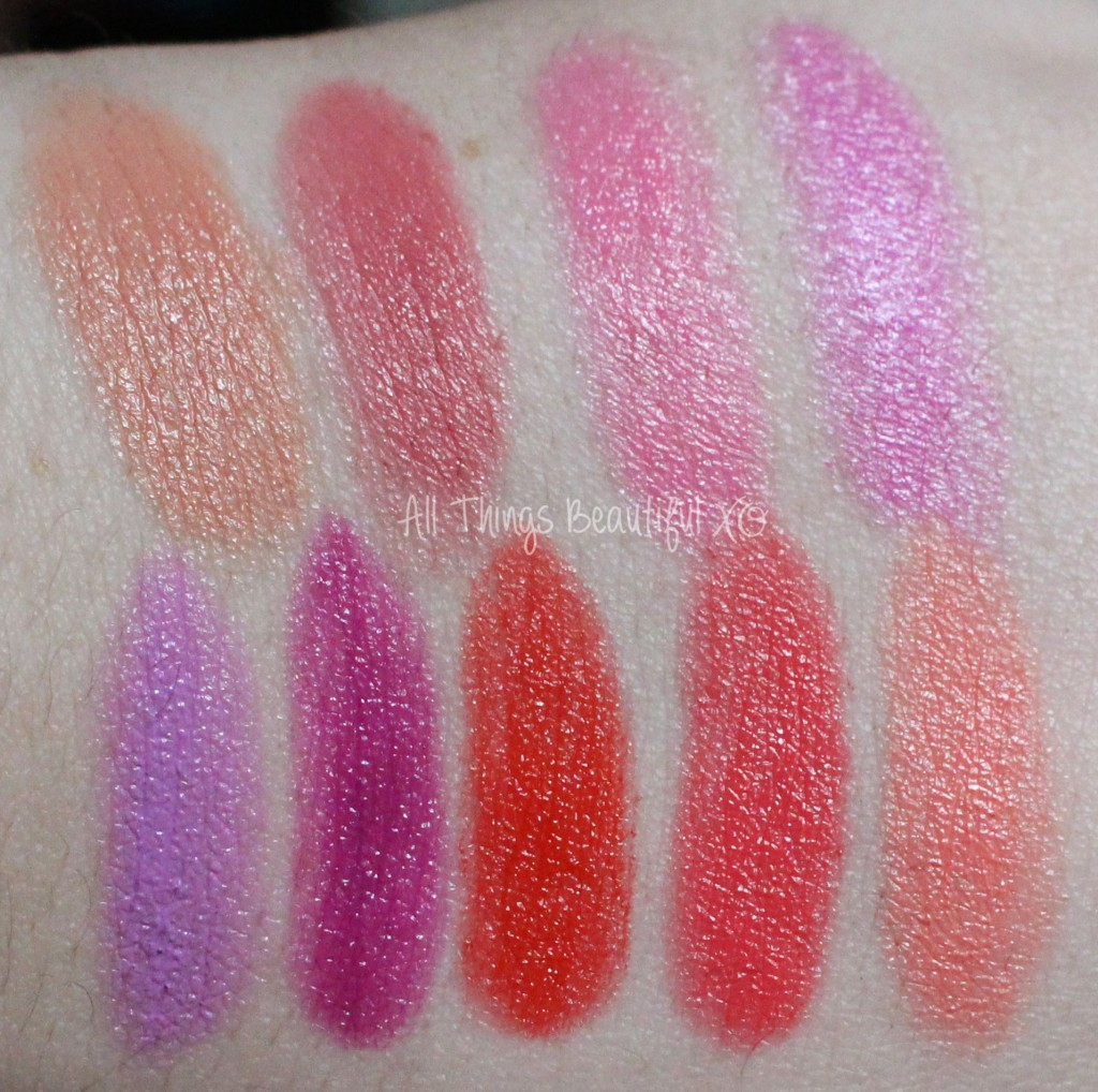 Maybelline Rebel Bloom Lipstick Collection Swatches & Review on All Things Beautiful XO | www.allthingsbeautifulxo.com