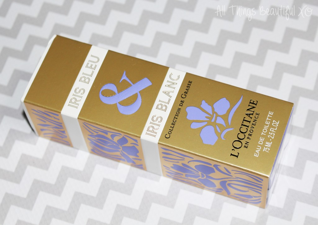 The L'Occitane Fragrance Iris Bleu & Iris Blanc Perfume from the Collection de Grasse Review on All Things Beautiful XO | www.allthingsbeautifulxo.com