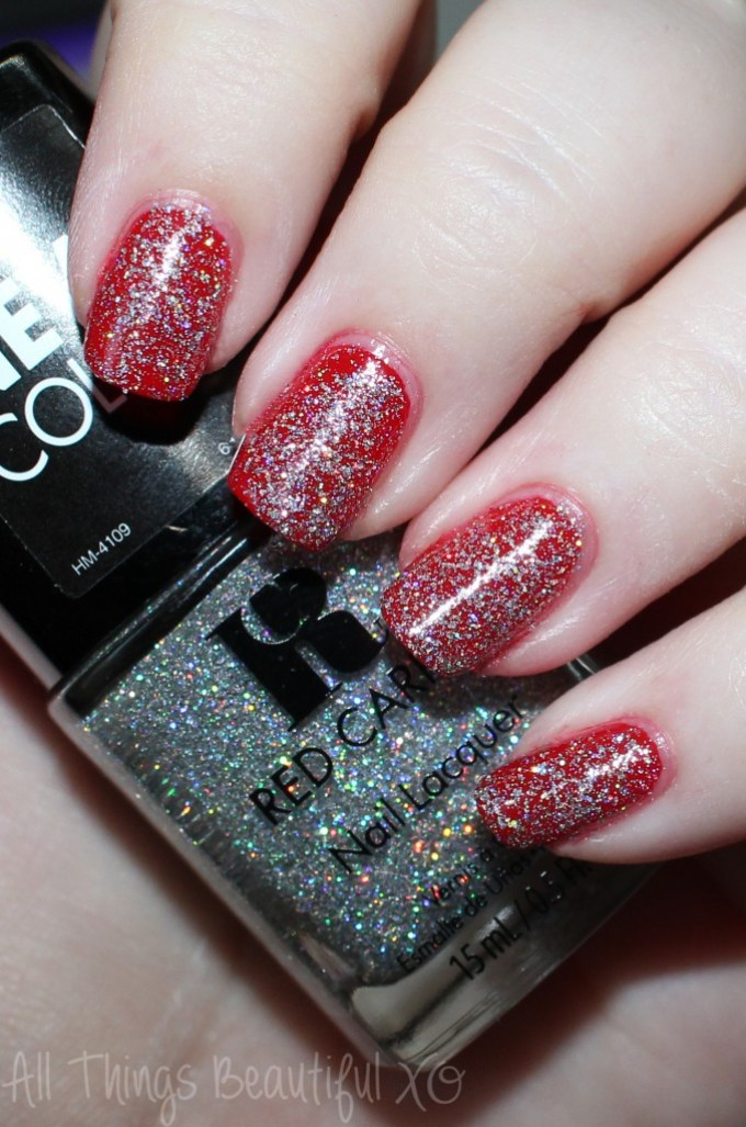Red Carpet Nail Lacquer in World Premiere  -- Gorgeous Red Carpet Manicure Nail Lacquers with Swatches & Review on All Things Beautiful XO | www.allthingsbeautifulxo.com