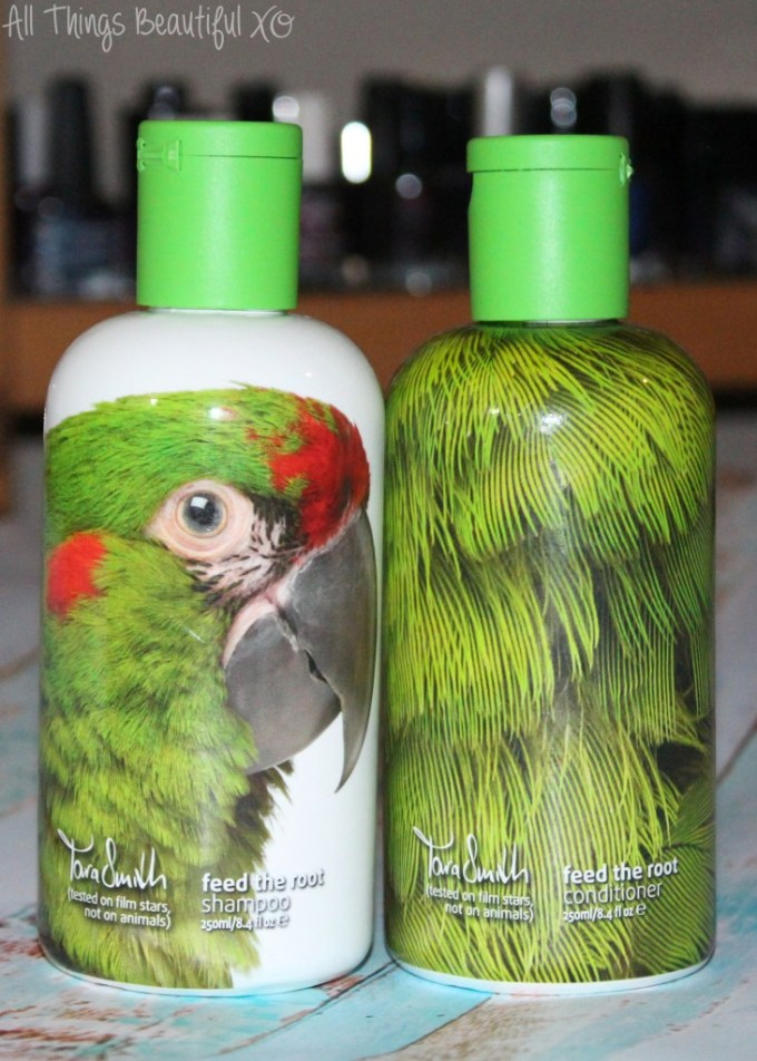 Meet the Gorgeous Vegan Hair Line from Tara Smith- earth-friendly, vegan, & created to make you feel gorgeous! Plus the bird packaging is amazing! Check out my review for each line & enter to win on All Things Beautiful XO | www.allthingsbeautifulxo.com