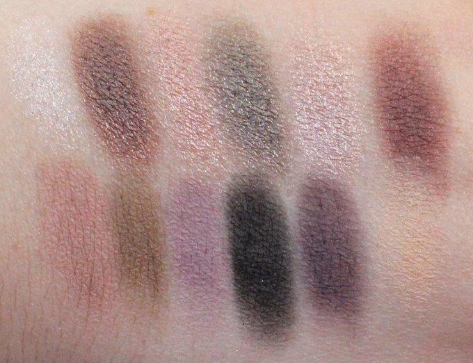 Swatches & review of the Makeup Revolution Romantic Smoked Redemption Eyeshadow Palette. This palette has gorgeous metallics & soft mattes to create a dreamy, romance on the eye. Check out how affordable this makeup is too! See more on All Things Beautiful XO