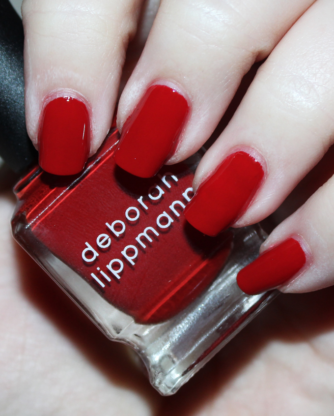 Deborah Lippmann Nail Polish in Respect   Fabulous Deborah Lippmann Nail Lacquer Shades- Swatches & Thoughts!