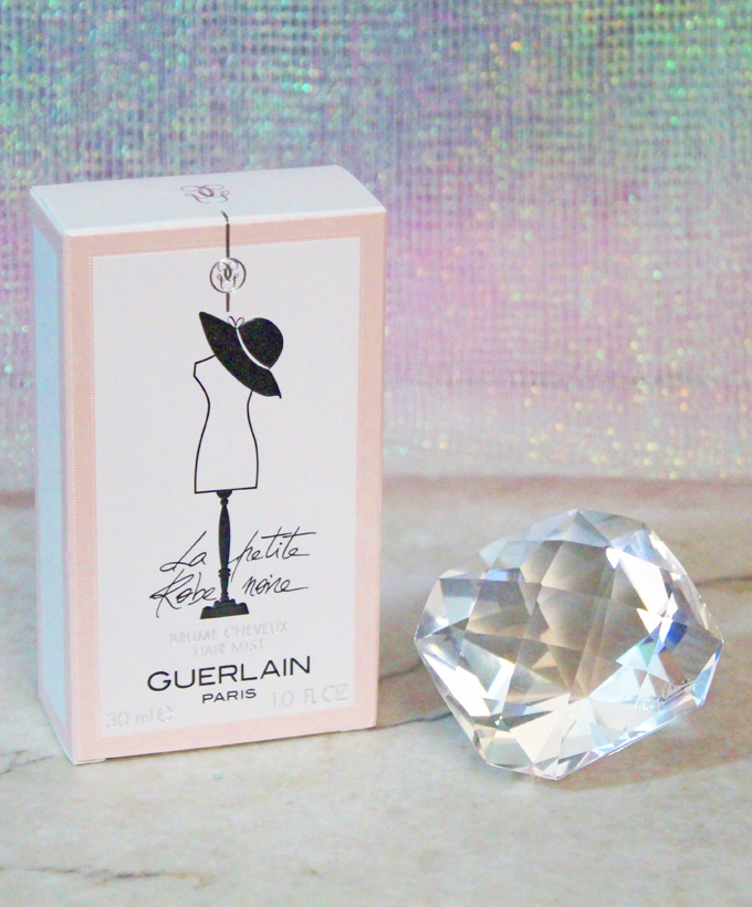 Guerlain La Petite Robe Noire Hair Mist on All Things Beautiful XO