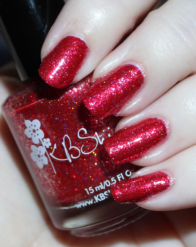 This is KBShimmer  Ruby  Swatches & review of the stunning KBShimmer Birthstone collection including shades like Sapphire, Peridot, Diamond, & more! See more on All Things Beautiful XO including makeup tutorials, skincare, hair, & more nail love!
