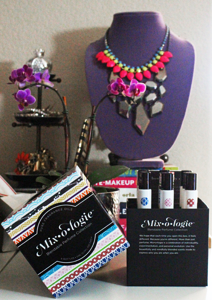 Mixologie Blendable Perfume Collection Review & International Giveaway! Blend your own custom fragrance!