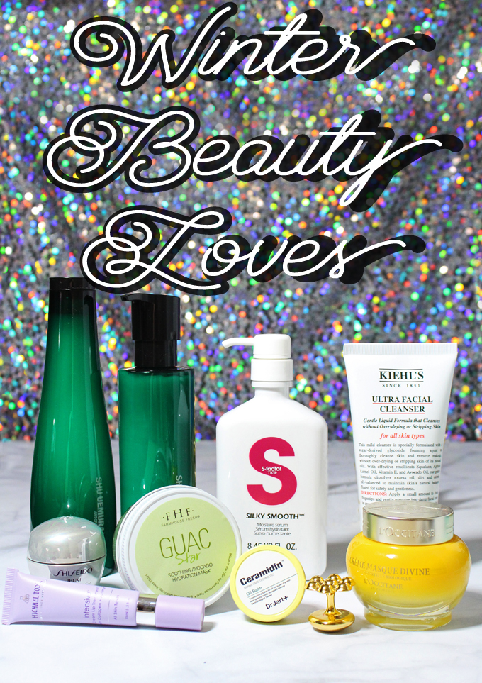 Winter Beauty Loves- Skincare, Hair, & More! The best products to combat winter dryness & stay hydrated on All Things Beautiful XO
