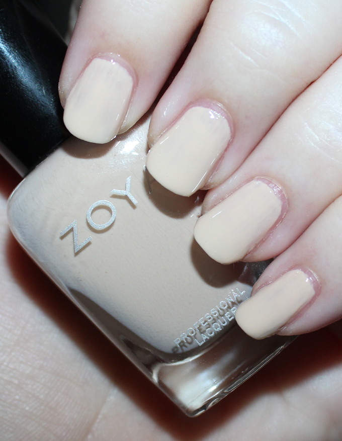 ZOYA CALA   Swatches & review of the Zoya Whispers Transitional 2016 Nail Polish Collection including the shades April, Cala, Lake, Eastyn, Ireland, & Misty on All Things Beautiful XO