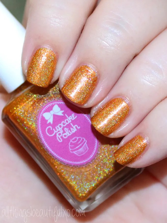 This is the shade Sand by Me from Cupcake Polish  Cupcake Polish Luau-Collection Swatches & Review