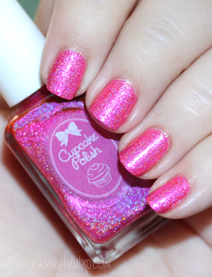 This is the shade The Tiki to my Heart from Cupcake Polish  Cupcake Polish Luau Collection Swatches & Review