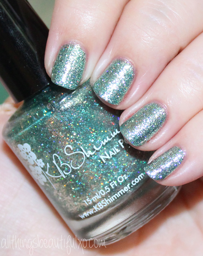 This is KBShimmer Flake Me Home Tonight Swatches & Review of the KBShimmer Fall / Autumn Collection 2016 . Check out more posts on nail art, makeup looks, & beauty reviews on All Things Beautiful XO