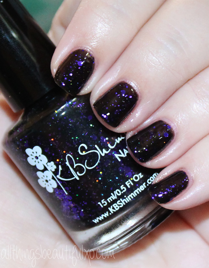 This is KBShimmer Fright This Way Swatches & Review of the KBShimmer Fall / Autumn Collection 2016 . Check out more posts on nail art, makeup looks, & beauty reviews on All Things Beautiful XO