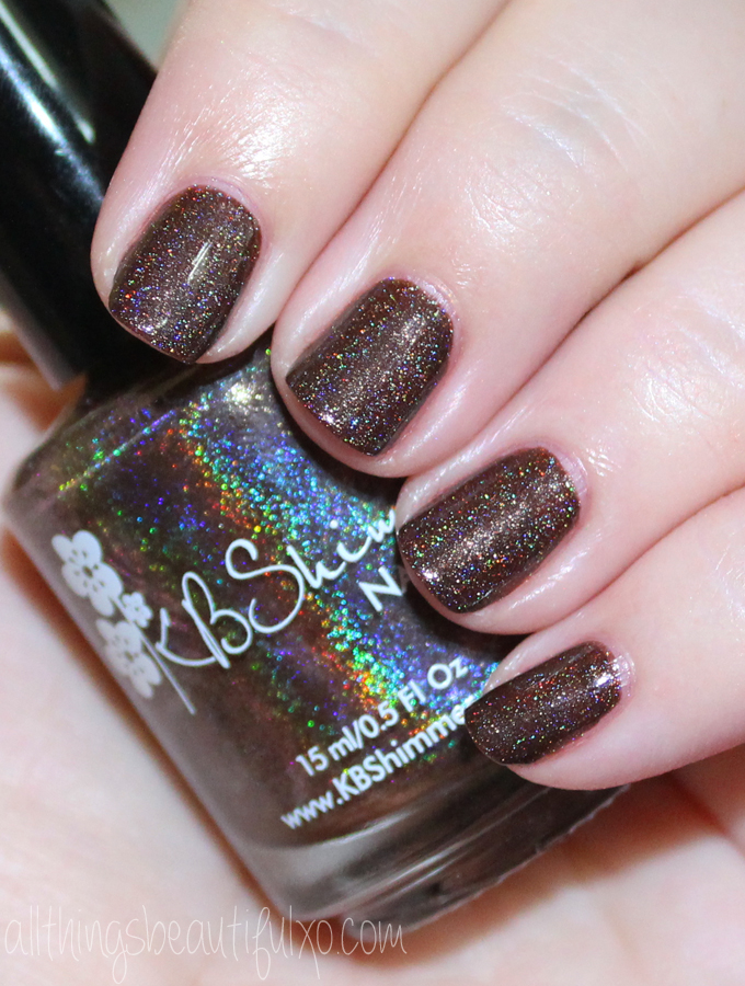 This is KBShimmer Oh My Ganache Swatches & Review of the KBShimmer Fall / Autumn Collection 2016 . Check out more posts on nail art, makeup looks, & beauty reviews on All Things Beautiful XO