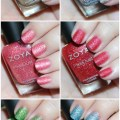 Swatches & Review of the Zoya Pixie Dust Seashells Collection including Levi, Bay, Cece, Linds, Zooey, & Tilly on All Things Beautiful XO