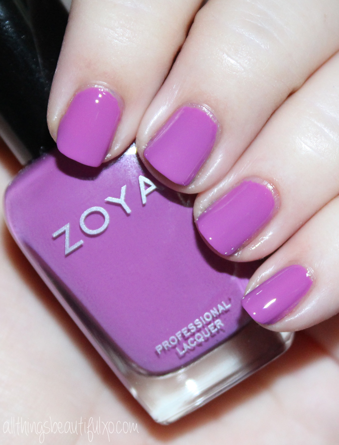 This is Zoya Liv  Swatches & review of the Zoya Nail Polish Sunsets Collection including the shades Dory, Brynn, Liz, Cam, Dixie, & Ness on All Things Beautiful XO along with other beauty reviews, nail art, hair tutorials, & much more!