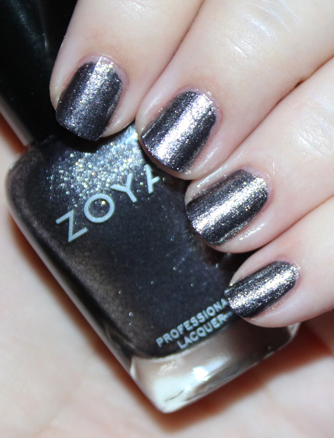 This is Zoya Troy  Swatches & review of the Zoya Urban Grunge Metallic + Holos including the shades Alicia, Finley, Merida, Britta, Ash, & Troy! Check out more nail art, makeup reviews, & style on All Things Beautiful XO