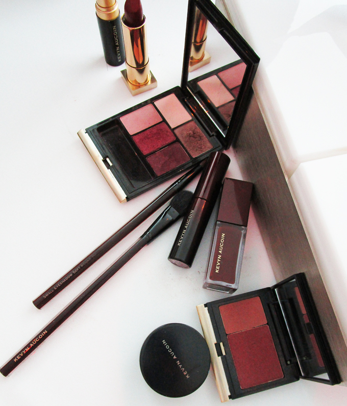 Checking out some of the new releases at the Neiman Marcus Autumn Beauty Launches Brunch including Tom Ford, Kevyn Aucoin, & more on All Things Beautiful XO