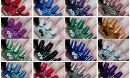 KBShimmer Winter + Holiday 2016 Swatches & Reviews including the shades Bling in the New Year, Take Me for Granite, Yeti or Not, Get to the Poinsettia, Chai-huahua, Haute Mess, Whiskey Business, The Holy Kale, Spruce Things Up, Have a Look-Ski, Ink Again, Ornamentally Flawless, Royal to a Fault, Just Duvet It, A Walk in the Park-A, & Soot and Ladders See more nail art, beauty, & makeup on All Things Beautiful XO