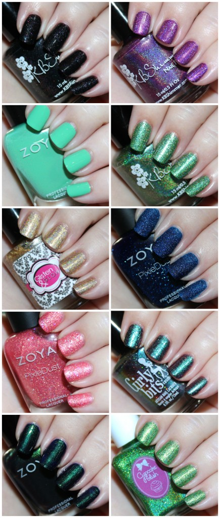 Check out my picks for the best nail polish shades from 2016 including Zoya, KBShimmer, & more on All Things Beautiful XO