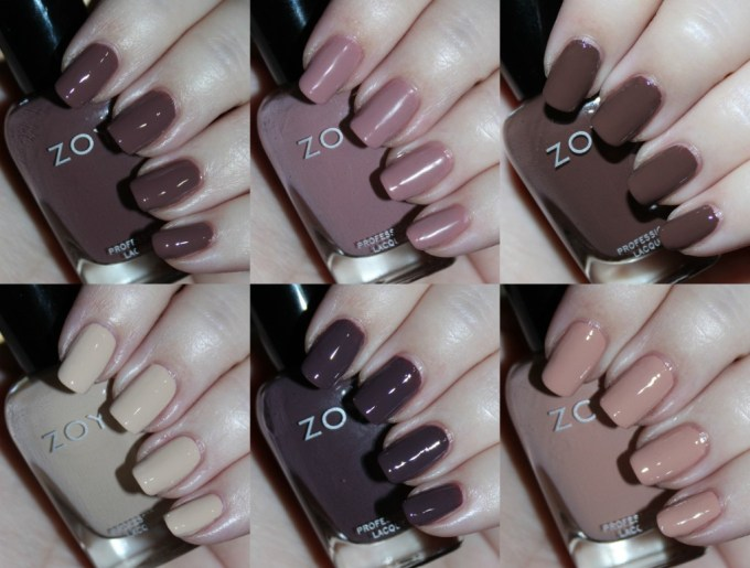 Swatches & Review Zoya Naturel 3 Collection including the shades Tatum, Cathy, Jill, Mary, Gina, & Debbie on All Things Beautiful XO