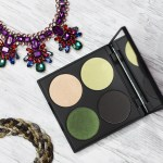 Swatches & review of the Gorgeous Cosmetics Composing Color Seasonal 4-Pan Palette on All Things Beautiful XO