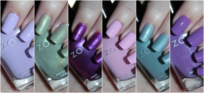 Zoya Charming Spring 2017 Collection Swatches & Review including the shades Jordan, Abby, Tina, Millie, Lacey, & Amira on All Things Beautiful XO