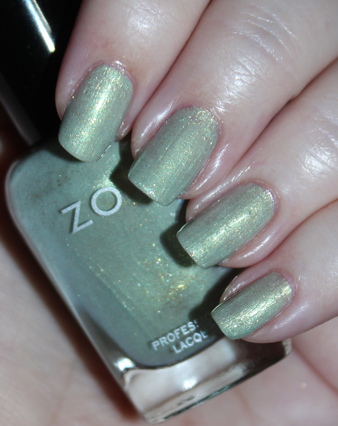This is Zoya Nail Polish in the shade Lacey Zoya Charming Spring 2017 Collection Swatches & Review including the shades Jordan, Abby, Tina, Millie, Lacey, & Amira on All Things Beautiful XO