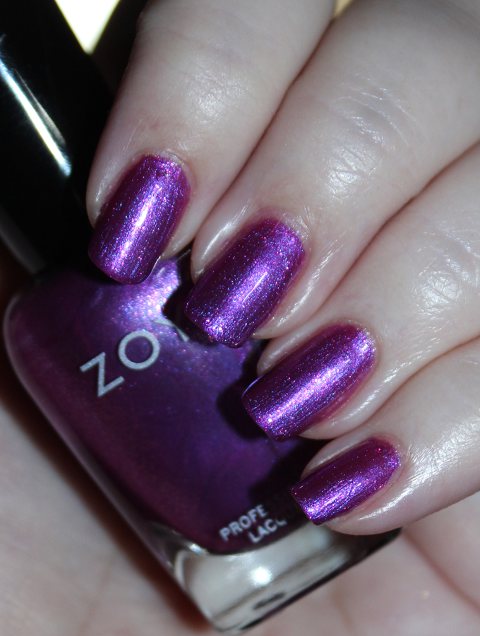 This is Zoya Nail Polish in the shade Millie Zoya Charming Spring 2017 Collection Swatches & Review including the shades Jordan, Abby, Tina, Millie, Lacey, & Amira on All Things Beautiful XO