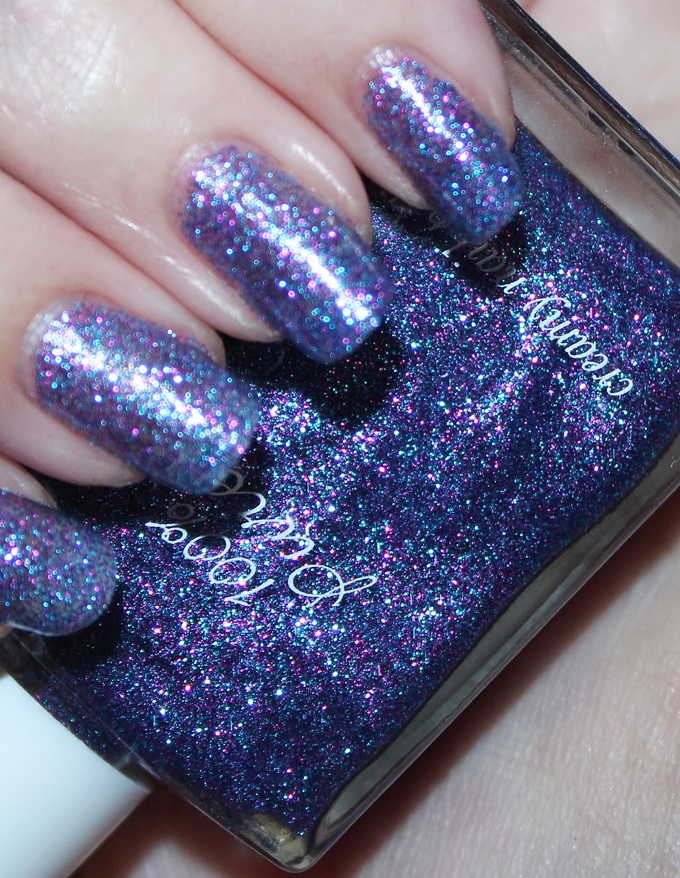 Swatches & review of 100% Pure 10-Free Nail Polish in Midsummer Night's Dream. See more nail art, makeup, & beauty on All Things Beautiful XO
