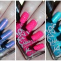 Swatches & review of the POP Beauty Nail Polish shades in Groovy Grape, Pink Peak, & Pool Party Blue. These polish shades SCREAM summer! See more nail art, makeup tutorials, & beauty on All Things Beautiful XO