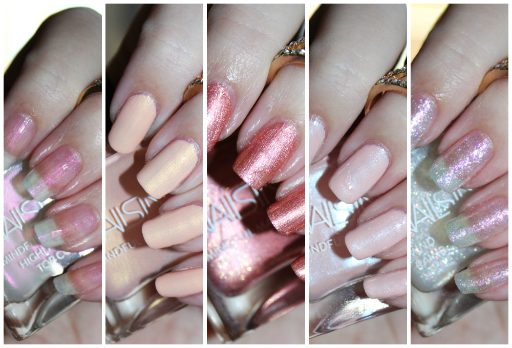 Nails Inc. Mindful Manicure Collection Swatches & Review – shades ...