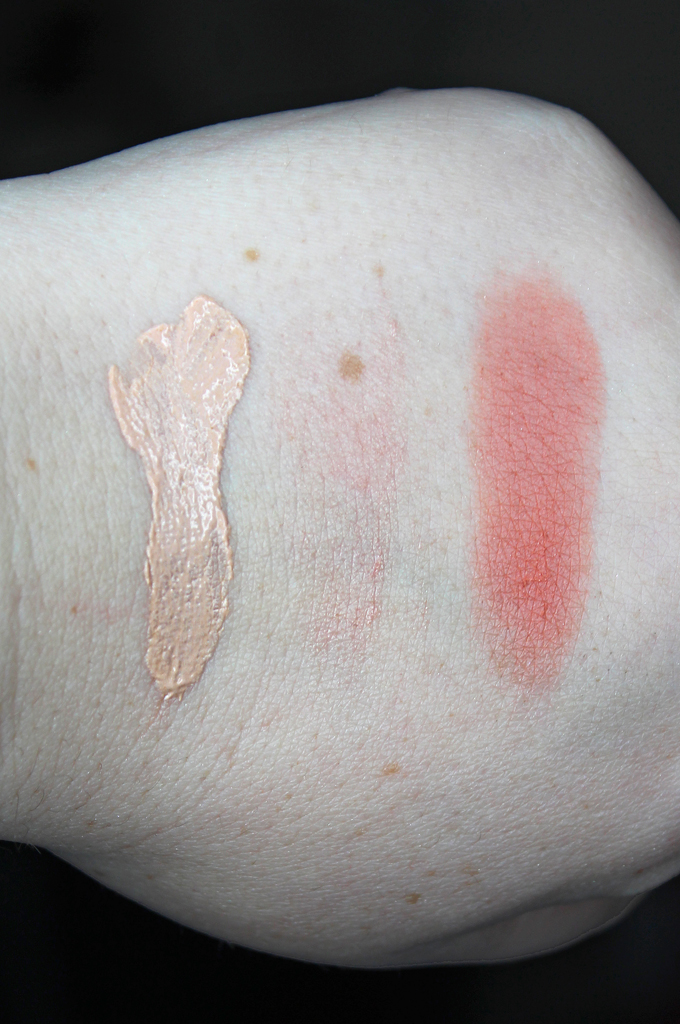 Swatches & review of the Suzanne Organics by Suzanne Somers Skincare & Beauty line on All Things Beautiful XO