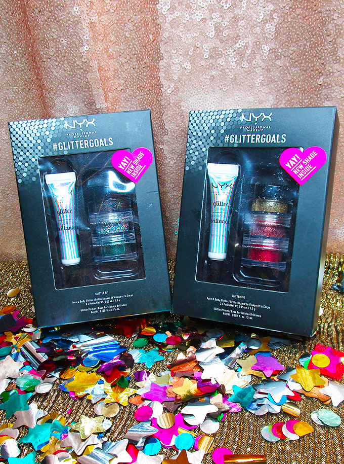 NYX Holiday 2017 Gift Sets ULTA Review #glittergoals My Absolute Favorite NYX Holiday Sets Available NOW including lip vaults, glitter, & a new go-to favorite on All Things Beautiful XO