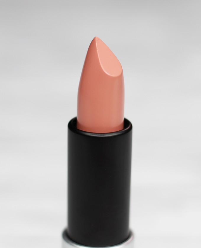 MUFE Artist Rouge Lipstick Satin Creme in C105 Greige Beige   I Bought a Bunch of MUFE Artist Rouge Lipsticks & Here's What I Think! (Make Up For Ever swatches, full face, & sass) on All Things Beautiful XO