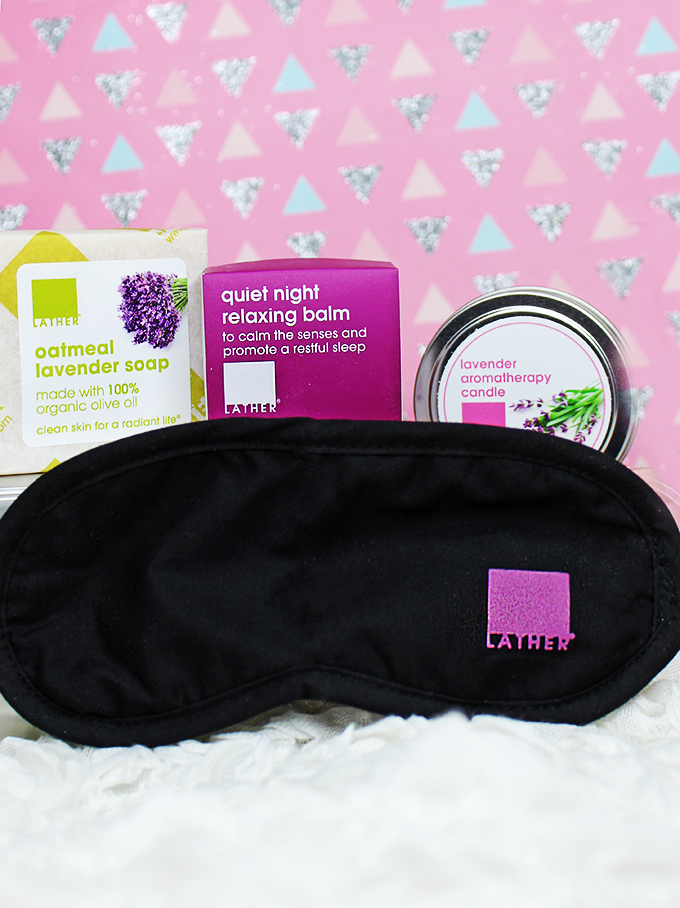 LATHER Bedtime Stories Relaxing Calm Kit 5 different gift sets perfect for her- Under $30 that aren't makeup! Hand, body & unique gift guide ideas to choose from on All Things Beautiful XO