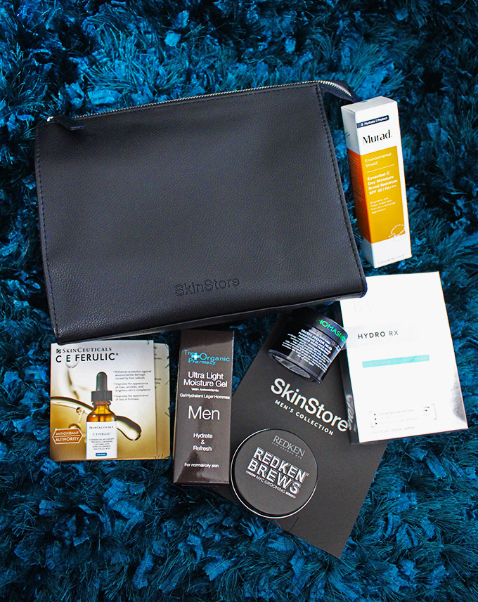 Perfect self-care gift for him! Why You or He Will Want the SkinStore Limited Edition Men's Collection (Worth $250.00) on All Things Beautiful XO