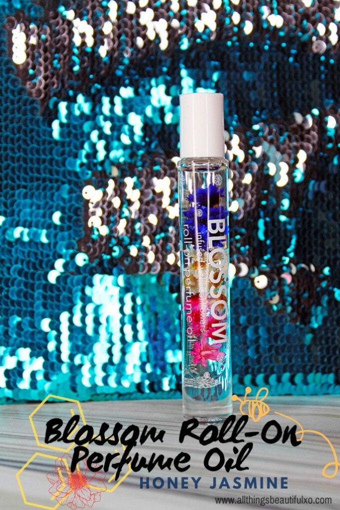 The unique & natural Blossom Roll-On Perfume Oil in the Scent Honey Jasmine on All Things Beautiful XO