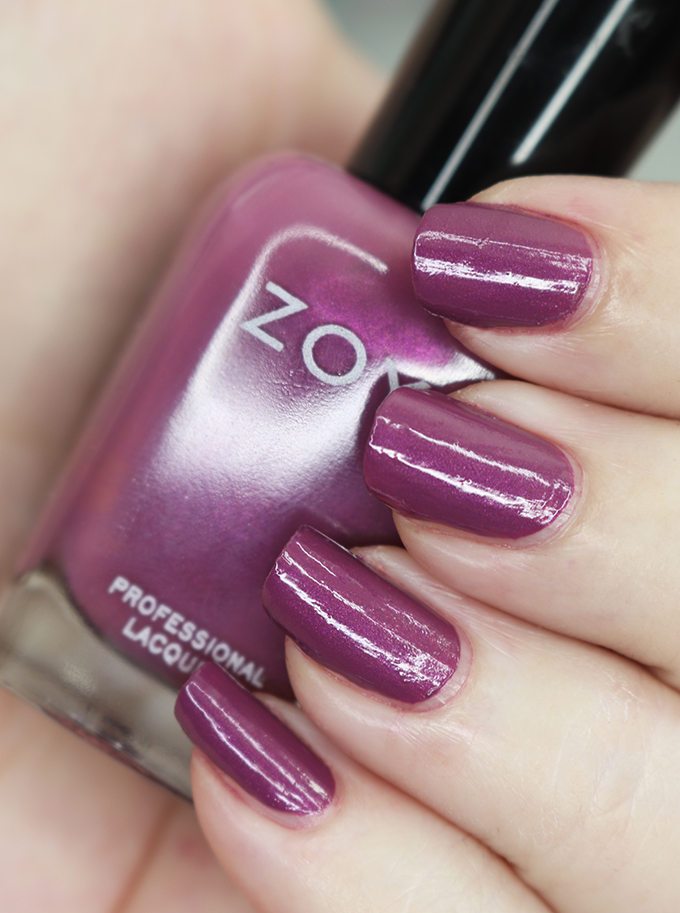 Zoya Nail Polish in Teresa from the Luscious Collection  Swatches & Review of the Zoya Luscious Part A Collection - shades in  Wanda, Patrice, Teresa, Andrea, Bentley, and Sharon on All Things Beautiful XO